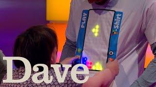 Dara O Briain's Go 8 Bit S1 E1 | Susan Calman Plays Tetris On David James | Dave