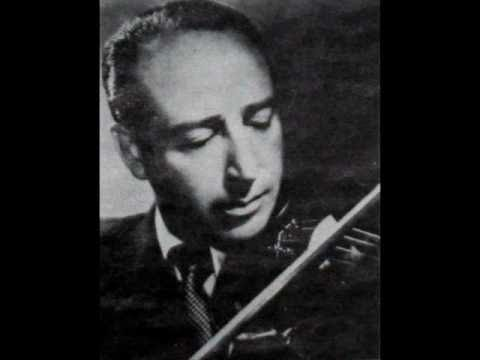 Bach / Bronislav Gimpel, 1964: Sonata No. 3 in C major for Violin, BWV 1005 - Allegro assai (Part 4)