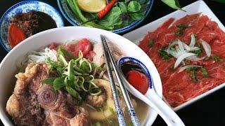 Jn - Oxtail and Marrow Bones Pho - Vietnamese Beef Noodle Soup