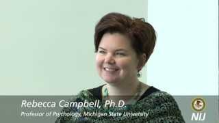 Interview with Dr. Rebecca Campbell on the Neurobiology of Sexual Assault (1 of 3)