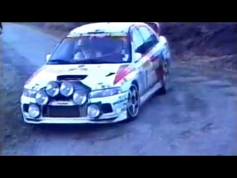 Spend the Next 10 Minutes Watching Rally Champion Tommi Mäkinen at His Peak