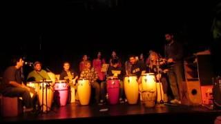 Muestra de Taller Percusión Afrocubana
