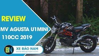 Mv Agusta U1 Mini 110cc đời mới nhất 2019 ► Đánh giá trải nghiệm cảm giác lái