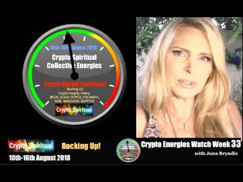 Crypto Energies 10-16th August 2018 & Integrity Rating: XRP, MFUN, POLYMATH, NEM & COMPARATIVE