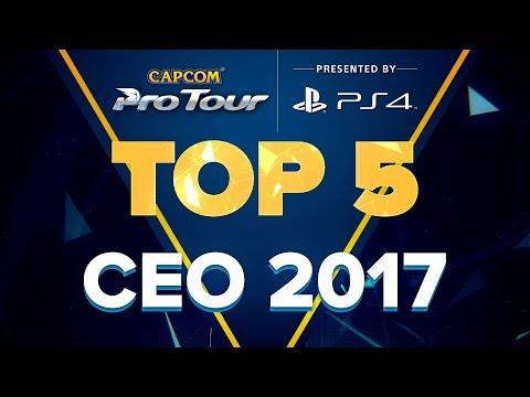 SFV: TOP 5 MOMENTS - CEO 2017 - CPT 2017