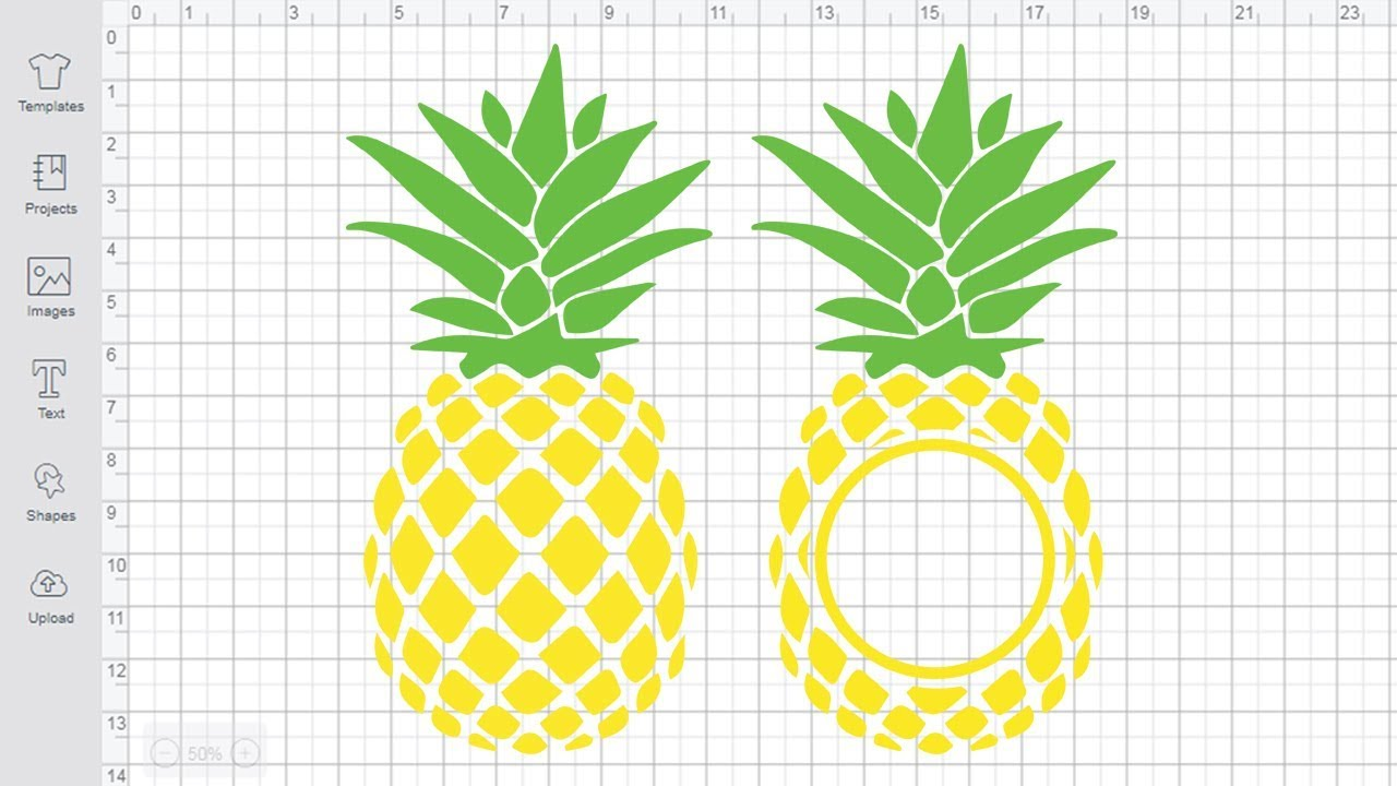 Download Pineapple SVG file Cricut Silhouette Cutting monogram svg ...