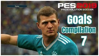 Pes 2019 - Realistic Gameplay  Goals Skills & Saves #7 - PS4 - HD