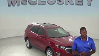 190346 New 2019 Chevrolet Equinox SUV Red Test Drive, Review, For Sale -