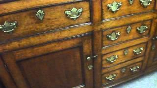 Antique Oak Cupboard Kitchen Dresser Base