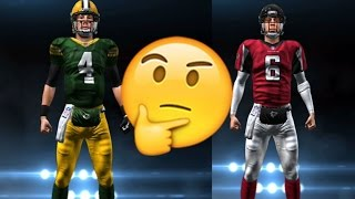 WHAT IF AARON RODGERS & MATT RYAN SWITCHED TEAMS? MADDEN NFL 17