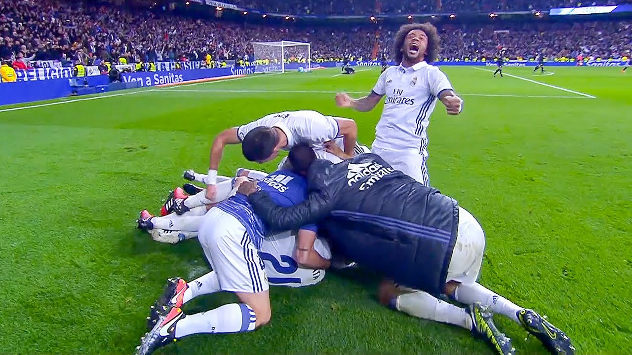 Download Real Madrid games that SHOCKED the WORLD
