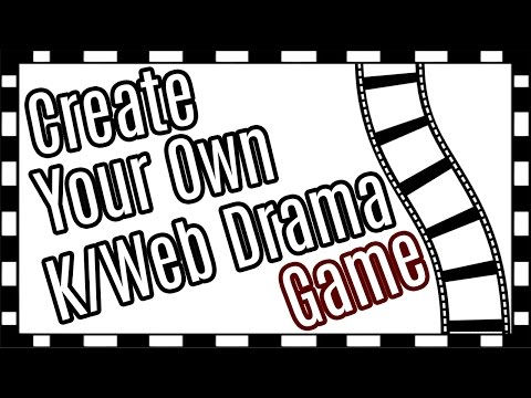 Create Your Own K/Web Drama Door Game