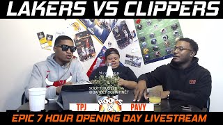 🏀Lakers vs Clippers Livestream - NBA Season Opener Special: Afternoon Brew 10.22.2019