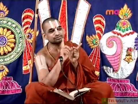 HH Sri Sri Sri Tridandi Srimannarayana Ramanuja Chinna Jeeyar Swami Pravachanam 04_05_09_1