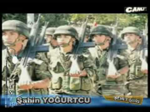 Şehitler Ölmez Vatan Bölünmez Sadettin Yazıcı Ben bir Türk Askeriyim her yerde varım