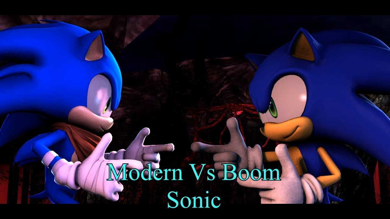 Sonic The Hedgehog Modern Sonic Boom