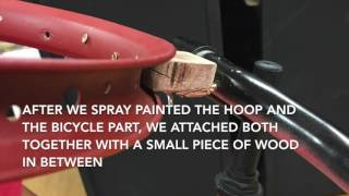 Making a Basketball Hoop out of Bicycle Parts