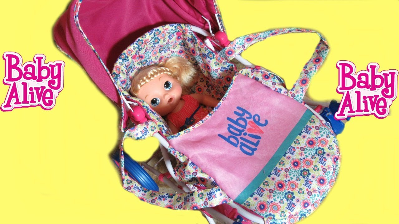 Baby Alive Stroller Unboxing Baby Alive Doll Dreamer Pram