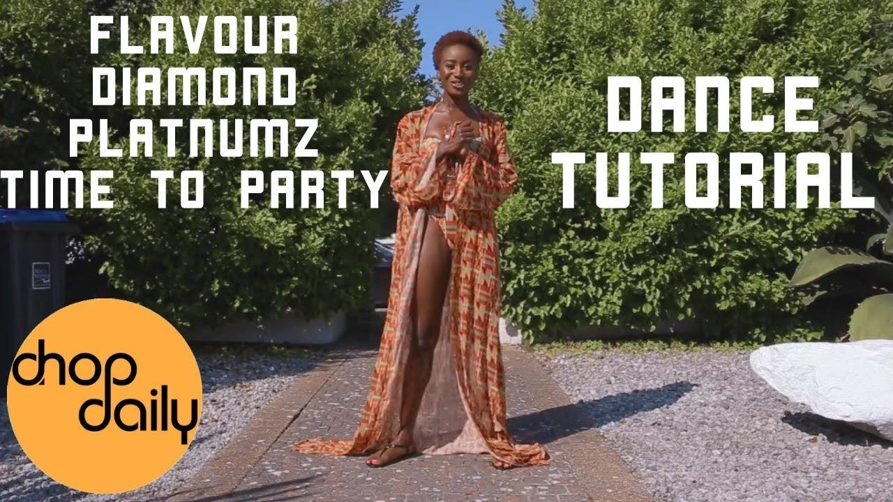 Flavour ft Diamond Platnumz - Time to Party (Dance Tutorial)