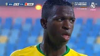 Vinicius Jr vs Colombia U-20 | Every Touch | 20/11/2018
