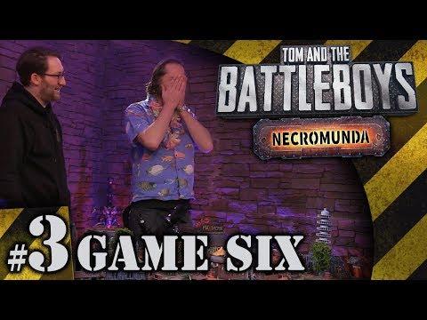 BATTLEBOYS - Necromunda Game Six #3 - Holiday Stomach Bug