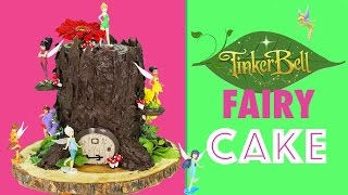 tinkerbell fairy cake how to make a tree stump cake with tinker bell fairies