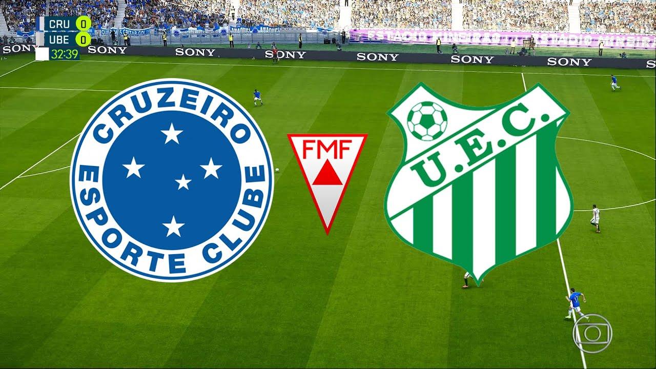 Cruzeiro X Uberlandia Campeonato Mineiro 2020 7ª Rodada 01 03 2020 Pes 2020 Youtube