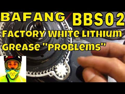 "Bafang 8fun BBS02 - White Lithium Grease ""problems"" • Electric Bike 750w 48v mid drive kit"
