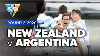 Tri Nations 2020 | New Zealand v Argentina  Rd 3 Highlights