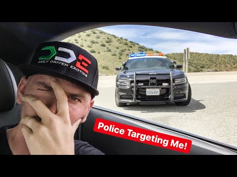 YOU WON'T BELIEVE WHY CHP POLICE PULL ME OVER!
