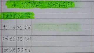 15 अक्टूबर   FB  GB  GL  DS   4 जोड़ी TRICK   satta king fast  4 jodi 4 satta   satta trick