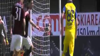 Video Gol Pertandingan Chievo Verona vs AC Milan