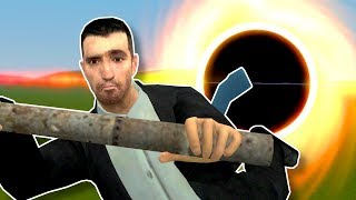 BLACK HOLE SURVIVAL! - Garry's Mod Gameplay & Natural Disasters