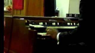 Phillip K Jones II playing,Pastor Phillip Jones Sr singing And The High Place