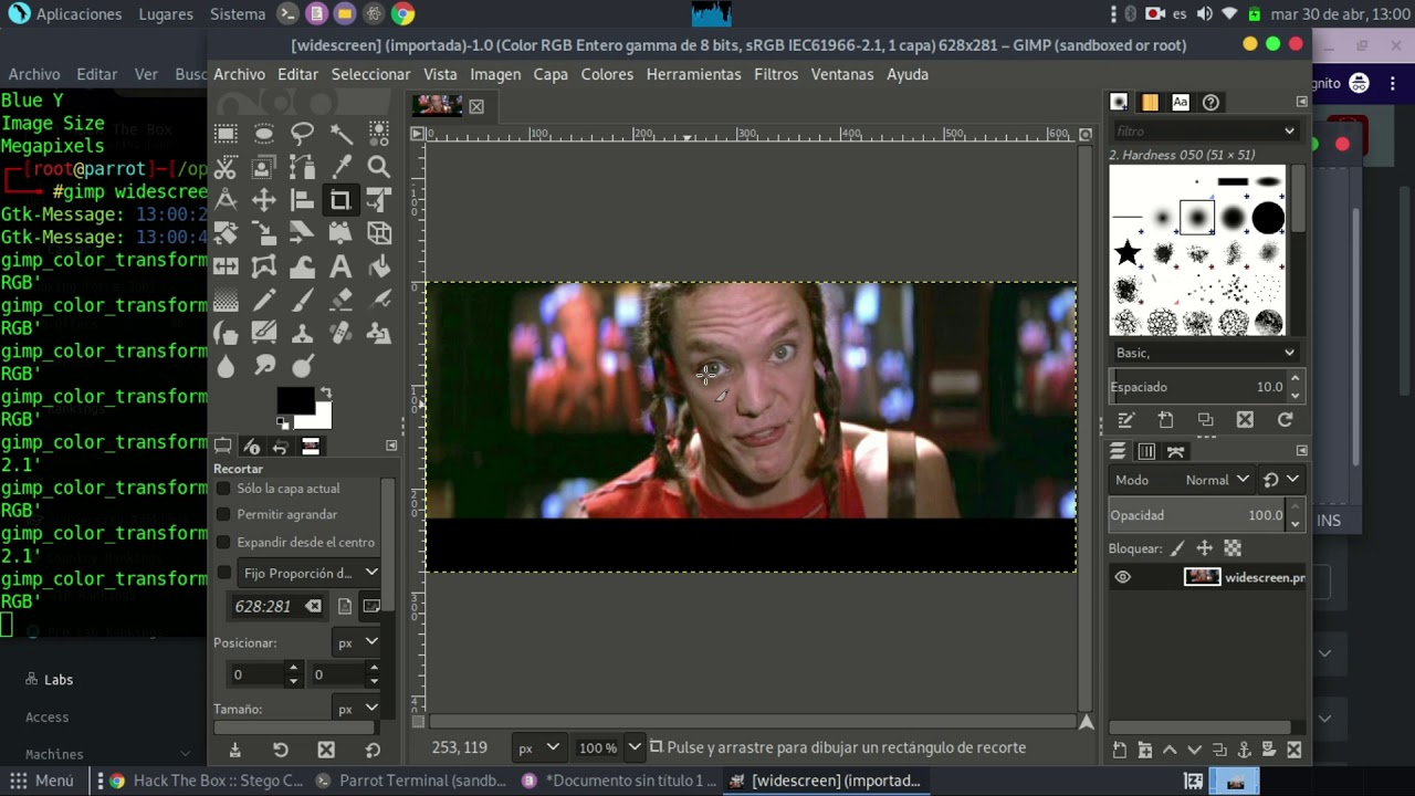 Widescreen - hackthebox(Stego Challenge)