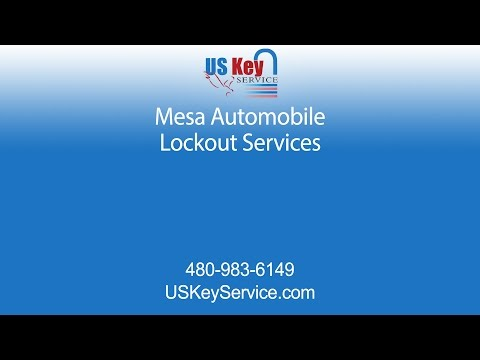 Mesa Lockout Services | US Key Services
