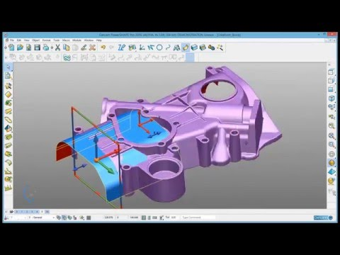 Scan-to-CAD : Complete reverse engineering with Delcam Powershape