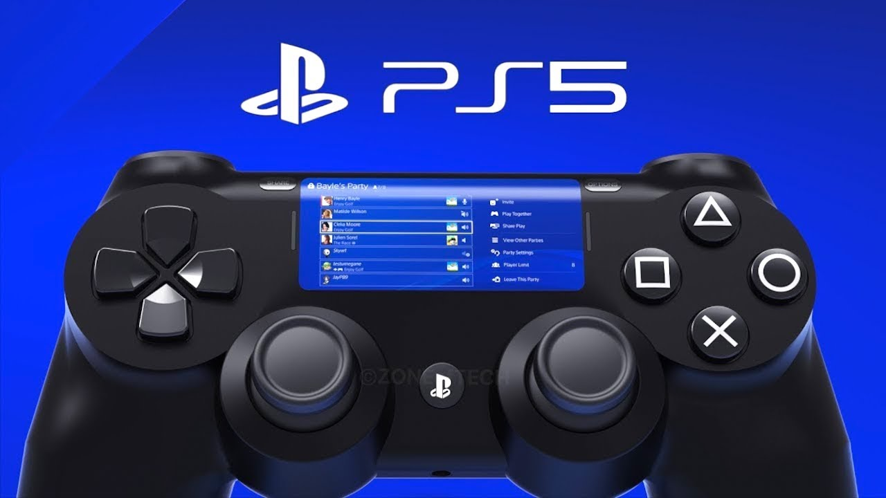 Ps5 Controller Leaked Playstation 5 Controller Youtube