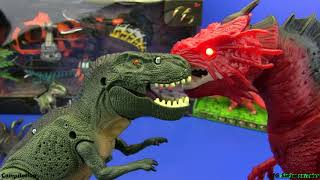Dinosaurs toys - COMPILATION !!! Jurassic World toys video for kids  | 2 HOURS