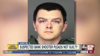 Accused Sebring bank shooter, Zephen Xaver, pleads not guilty