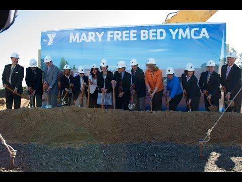 Mary Free Bed YMCA Groundbreaking