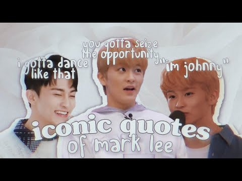 mark lee's iconic quotes that i wanna forget but can't