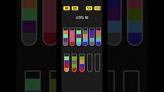 Water sort puzzle level 50 screenshot 5
