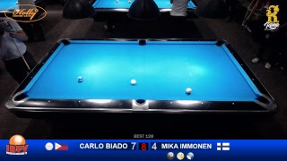 10 - ball jogja open international 2018 CARLO BIADO (PHILIPINE) VS MIKA IMMONEN (FINLANDIA)