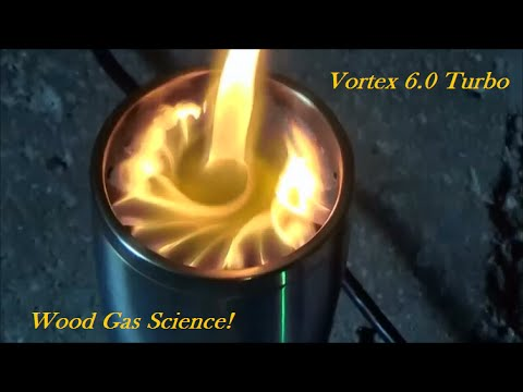 Wood Gas Stove Science! Vortex 6.0 Turbo - Wood Gas Stove Science! Vortex 6.0 Turbo - YouTube