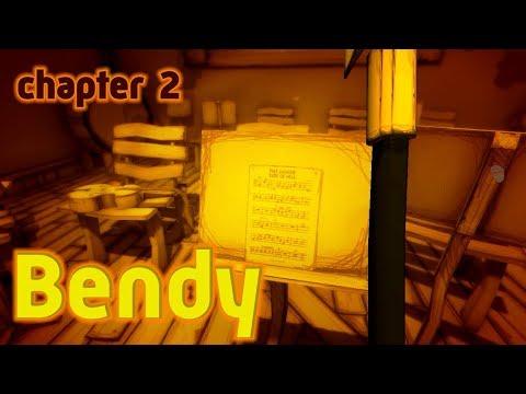 Прохождение Бенди и чернильная машина Глава 2 Bendy And The Ink Machine Chapter 2