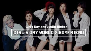 걸스데이 (Girl's Day World) x Justin Bieber (Boyfriend)
