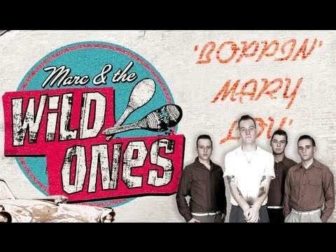 'Boppin' Mary Lou' Marc & The Wild Ones RHYTHM BOMB RECORDS (Official Music Video) BOPFLIX