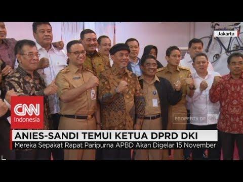 Anies-Sandi Temui Ketua DPRD DKI Mp3