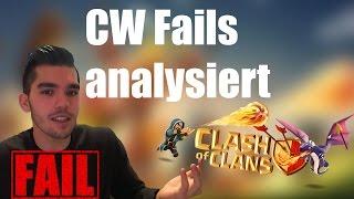 CLASH OF CLANS: Clan War Fails analysiert ✭ Let's Play Clash of Clans [Deutsch/German HD]